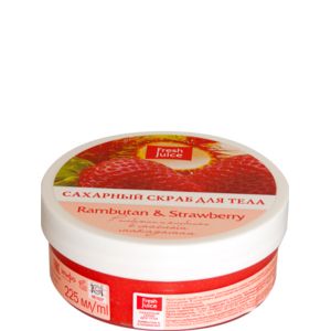 "Скраб для тела Fresh Juice ""Rambutan & Strawberry"" фото"