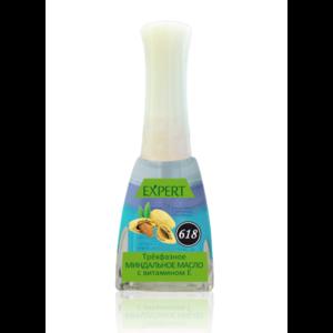 Масло для ногтей и кутикулы Северина EXPERT Трехфазное миндальное с витамином Е №618 фото