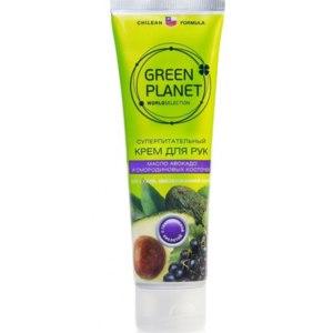 """Крем для рук Зелёная планета суперпитательный для сухой и обезвоженной кожи рук """"Масло авокадо и смородиновых косточек"""" фото"""
