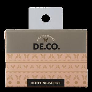 Матирующие салфетки для лица DE.CO. с экстрактом зелёного чая фото
