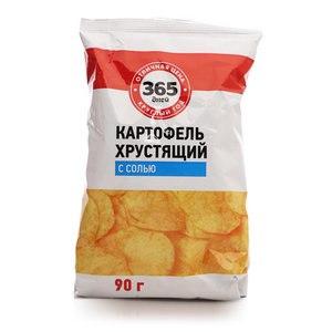 Чипсы картофельные 365 дней картофель хрустящий с солью фото
