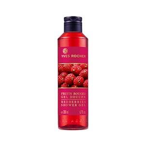 Гель для душа Ив Роше / Yves Rocher Fruits Rouges GEL DOUCHE (Redberries Shower Gel). Красные ягоды фото