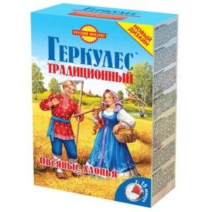 """Овсяные хлопья Русский продукт геркулес """"Традиционный"""" фото"""