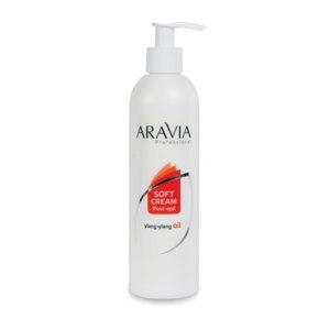 "Сливки ""ARAVIA Professional"" с маслом иланг-иланг для восстановления рН кожи фото"
