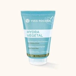 Гель для умывания Ив Роше / Yves Rocher очищающий освежающий hydra vegetal фото