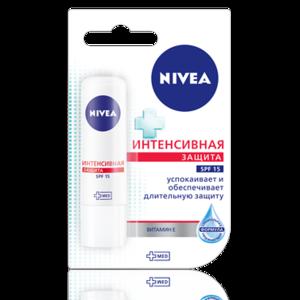 """Бальзам для губ NIVEA """"Интенсивная защита"""" SPF 15 фото"""