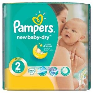 Подгузники Pampers New Baby-dry фото