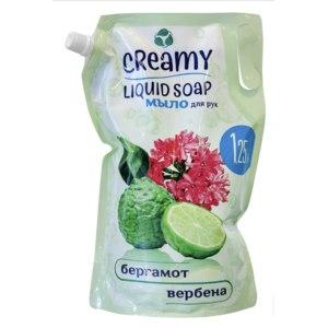 Жидкое мыло для рук CREAMY Liquid Soap Бергамот и вербена фото