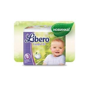 Подгузники LIBERO EcoTech Comfort Fit   Отзывы покупателей afdd8b382b0