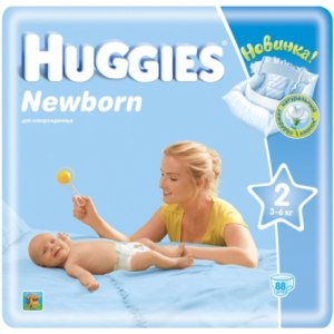 Подгузники Huggies Newborn фото