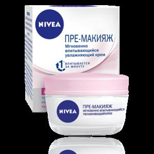 Крем для лица NIVEA пре-макияж для сухой и чувствительной кожи фото