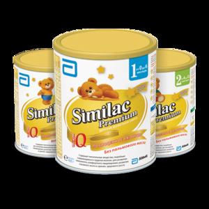Детская молочная смесь Similac Premium 1 фото