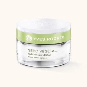 Крем-гель для лица Ив Роше / Yves Rocher Sebo Vegetal zero defaut Себо Вежеталь фото