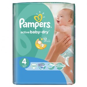 Подгузники Pampers active baby-dry (актив бэби) фото