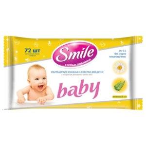 Влажные салфетки Smile Baby фото