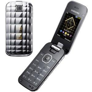 Мобильный телефон Samsung  GT-S5150 La Fleur Silver фото