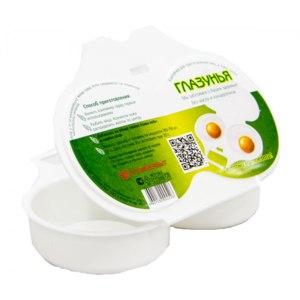 Контейнер для приготовления яиц в СВЧ-печи Полимербыт  фото
