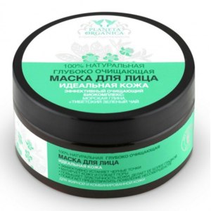 Маска для лица Planeta Organica 100% натуральная глубоко очищающая маска для лица идеальная кожа фото