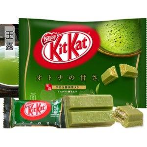 Шоколадный батончик Nestle Kit-Kat со вкусом зеленого чая фото