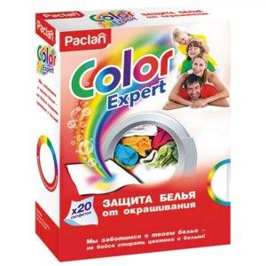 Салфетки для защиты от окрашивания PACLAN Color expert защита белья фото