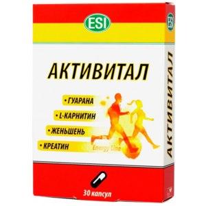 Лекарственный препарат  Активитал от E.S.I. фото