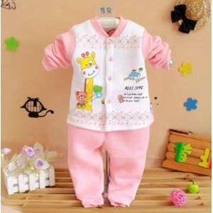 Костюм AliExpress 12 children's clothing bear thermal open front thermal set child thermal underwear set  фото