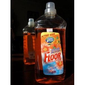 Универсальное средство Gold Drop Floor Active soda Tropical Citrus для мытья полов, стен и глазурованных плиток фото