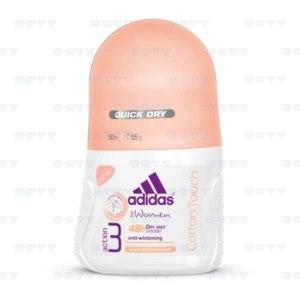 Дезодорант-антиперспирант Adidas роликовый Action 3 dry max system Cotton Touch фото