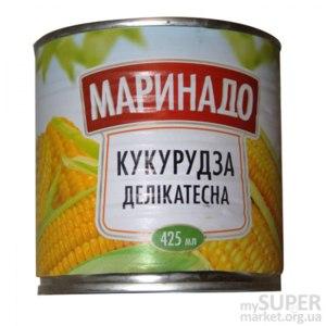 Консервированная кукуруза Маринадо Кукруза деликатесная Select фото