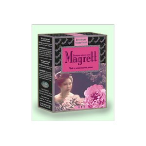 """Индийский черный чай  Magrett  """"Чай с лепестками розы"""" фото"""