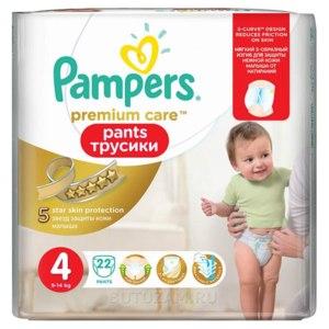 Подгузники-трусики Pampers Premium care pants (старый дизайн) фото