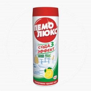 Чистящее средство Пемолюкс Сода 3 Эффект  фото