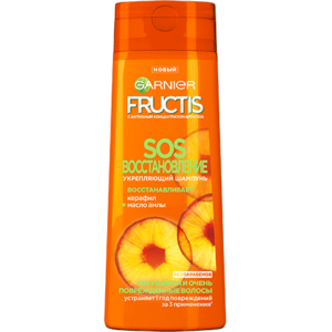 Шампунь Garnier Fructis SOS восстановление керафил+масло амлы фото