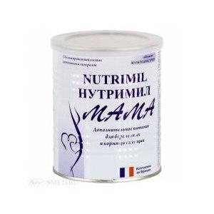 Сухое молоко Nutrimil Нутримил мама - дополнительное питание для беременных и кормящих женщин фото
