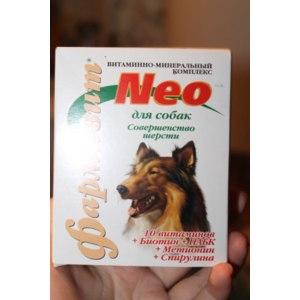 Витамины Фармакс Витамины Фармакс Фармавит  Neo для собак Совершенство шерсти фото