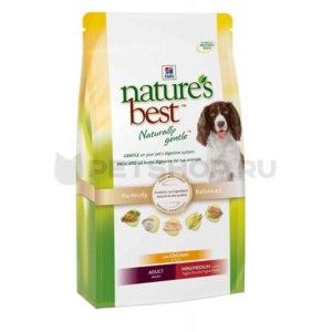 Корм для собак Hill`s Nature's Best для взрослых собак малых и средних пород с курой и овощами фото