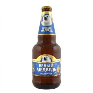 Пиво САН Инбев Белый медведь полярное фото