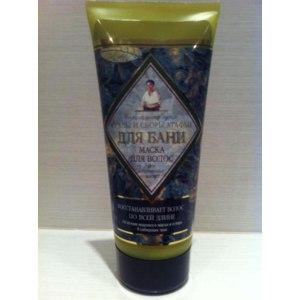 Маска для волос Рецепты бабушки Агафьи «Травы и сборы Агафьи для бани» Восстанавливающая фото