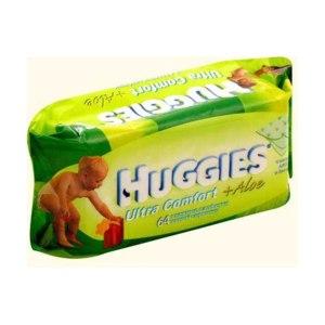 Влажные салфетки Huggies Ультра Комфорт c Алоэ фото