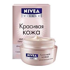 """Крем для лица NIVEA """"Красивая кожа"""" увлажняющий фото"""