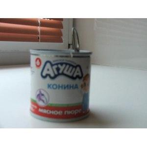 "Пюре Агуша мясное ""Конина"" фото"