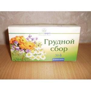 Лекарственные растения Фитофарм Грудной сбор №4 фото