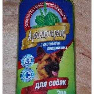 Шампунь для собак O.L.KAR-АгроЗооВет-Сервис Аристократ с экстрактом подорожника фото