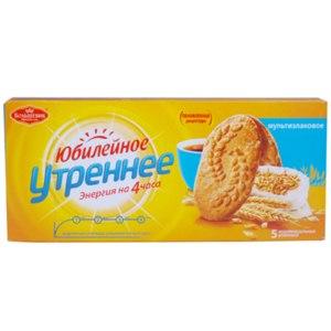 Печенье Большевик Юбилейное Утреннее Мультизлаковое фото