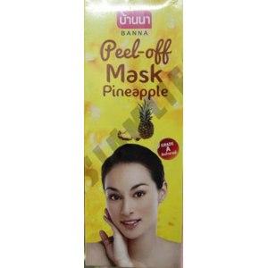 Маска-пленка для кожи лица Banna Пилинг Ананас Peel-off Mask Pineapple фото