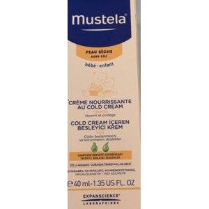 Детский крем Mustela Питательный крем для лица с кольд-кремом фото