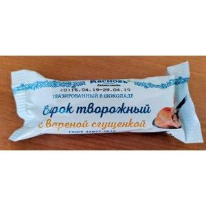 Сырок творожный глазированный МясновЪ с вареным сгущённым молоком фото