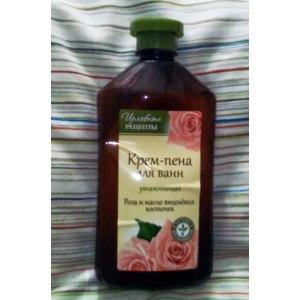 Пена для ванн Целебные рецепты Роза и масло вишневых косточек фото