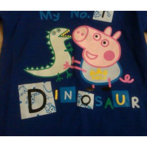 Пижама AliExpress 2013 new autumn -summer peppa pig pajamas for girls casual kids baby girl clothes pijamas peppa pig clothing sets the sale 4651 фото