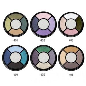 Тени для век Bell Четырёхцветные Fashion colour фото